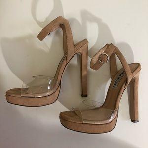 Steve Madden Classic Beige Stiletto Heels